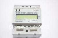 DDS238 20(100A) 110V 60HZ LCD Single phase Din rail KWH Watt-hour meter, Din rail Meter,Din railelectric energy meter