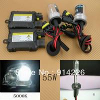 Car Auto parts Xenon 55W Xenon HID Conversion Slim Kit H1 5000K