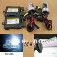 Car Auto parts Xenon 55W Xenon HID Conversion Slim Kit H7 8000K