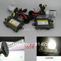 Xenon 55W Xenon HID Conversion Slim Kit H7 4300K