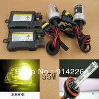 Car Auto parts Xenon 55W Xenon HID Conversion Slim Kit H11 3000K