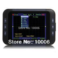 "3.5"" QDSO Pocket Size Handheld Digital Oscilloscope LCD USB Disk Wholesale, free shipping #130117"