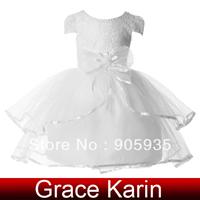 Free Shipping!Grace Karin Crew Neck Flower Girls Princess Bridesmaid Wedding Pageant Prom Evening DressCL4606