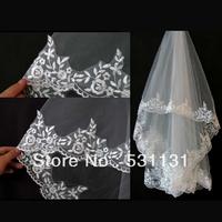 Bridal veil long veil 3 meter train design computer laciness veil