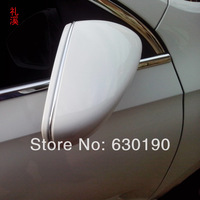 Skoda 2013 year Rapid octavia Fabia Superb side mirror decoration light bar rear view mirror silver plated decoration strip