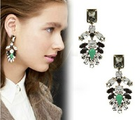 Free Shipping Fashion Luxury Party Drop Earrings 10 Pairs/lot