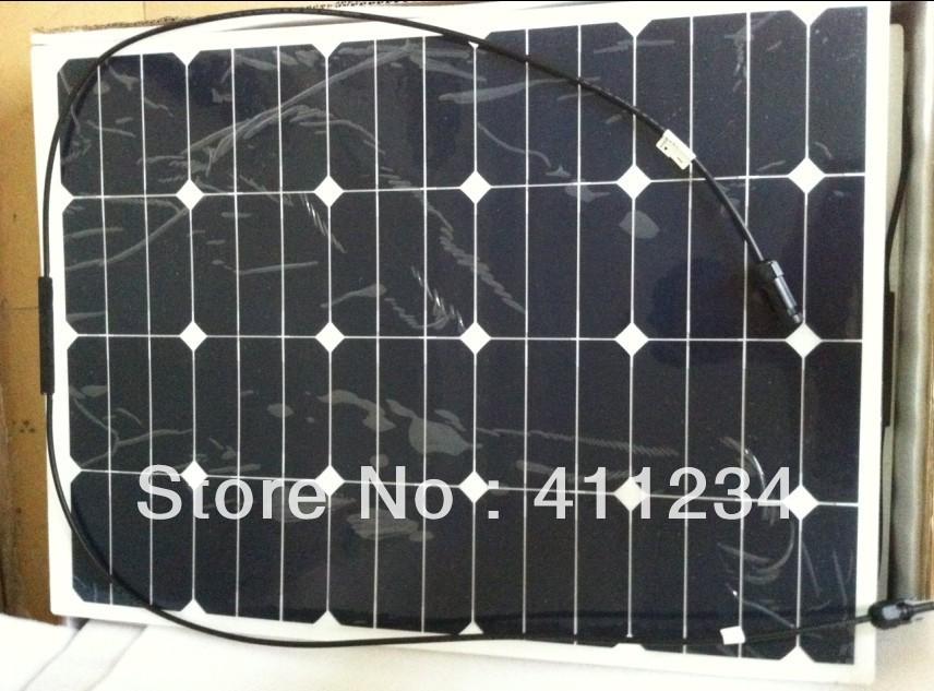 Sunpower cell high efficiency semi flexible marine solar panel for yacht boat RV.(China (Mainland))