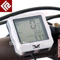 Multifunction wireless Waterproof Digital Backlight Noctilucent Bicycle Computer Odometer Bike Speedometer Clock Stopwatch