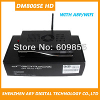 DVB DM800SE HD Satellite receiver with wifi internal a8p card Enigma 2 BCM4505 Tuner