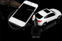6800mAh Car Model Design Power Bank External Portable Battery Charger Power Pack, Free Shipping