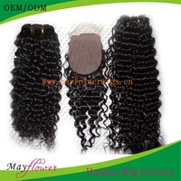 Free shipping3pcs of Peruvian virgin human hair extension bundles with one3.5x4/4x4 silk base lace closures many in stock