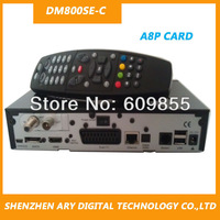 DVB HD cable TV receiver dm800se-c  dvb cable set top box a8p card RevD6 BCM4505