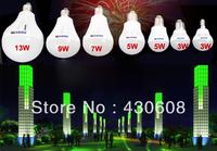 Free shipping 5pcs/lot LED e14 2835SMD  bulb light lamp High brightness light & lighting 3W 5W 7W E27 B22 Cold white/warm white
