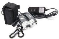 free shipping 5000 Lumen 2x CREE XM-L T6 LED Bike Bicycle Light Headlamp Flashlight