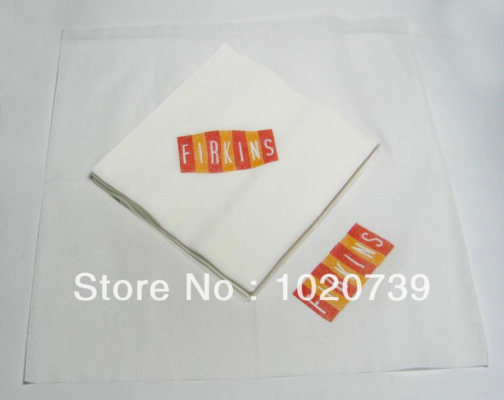 Custom Printed Napkins Logo Custom Printed Napkin
