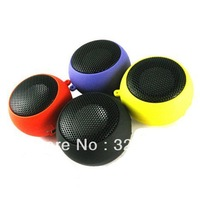 Hamburger Style USB Rechargeable Speaker for MP3/MP4/PC/Cell Phone mini USB Rechargeable Portable Speaker - Black (3.5mm/DC 5V)