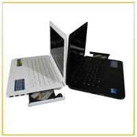 Free Shipping 13.3'' windows laptop Intel D2500 1.86Ghz Dual Core CPU DVD-Burner  Windows 7 Notebook Built in 4GB RAM 500GB HDD