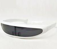 Free shipping Anti-uv sunglasses personality one piece mercury sunglasses laser men sunglasses