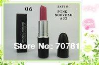 Free shipping Satin Pink Nouveau A32 Lipstick  Pink Makeup Lipstick 3G A32 Dropping Shipping