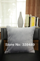 Yoshio plush flannel pillow brief modern fabric cushion sofa cushion core