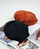 2013 full octagonal cap painter cap newsboy cap fashion cap black cap