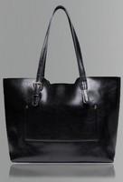 Ms real leather handbags single shoulder bag, can make shopping bag, free shopping women bag