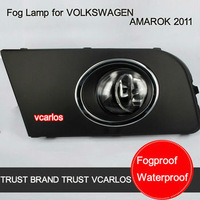 Free Gifts + Free Shipping Auto Fog Lamp for VOLKSWAGEN AMAROK 2011+ Car Fog Light for V.W AMRAOK 2011