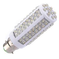 B22 7W 108leds Warm/Day White Corn LED Light Bulb Lamp 110W  High Power