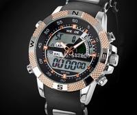 Free shipping! WEIDE 1104 Special luminous men's watch multifunctional military submersible waterproof  men's sports watch