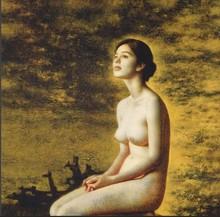 modern Nude Sexy girl