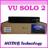 2014 Wholesales-- vu solo Linux OS Vu Plus 1300 MHz CPU Twin tuner vu solo2 vu solo 2 hd satellite tv receiver DHL free shipping