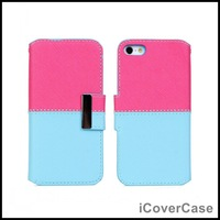 Big Sale !!! Wallet Leather Case For iPhone 5 5S with Cards Holder