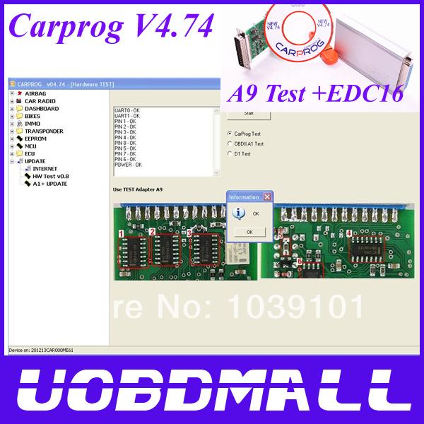 CARPROG FULL V4.74 Carprog Programmer Repair Tool With 21 Part +Dongle+Count Reset Cable Car Prog 4.74 Diagnostic Tool(China (Mainland))