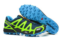 Free shipping New 2013 brand Salomon shoes flats Athletic Shoes for men's Sports hiking shoes Running Shoes men tenis shoes40-45