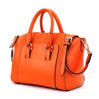 New Winter Crocodile Pattern Handbag,Single Shouder Messenger Handbag Embossing Ladies' Handbag
