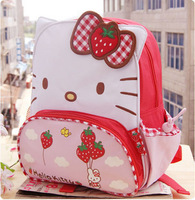 Hot selling Hello kitty, Minnie Mouse bag Cartoon baby bag kindergarten children bags child shoulder school bag cute backpacks