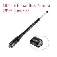 NA-774 SMA-F UHF+VHF  Dual Band Antenna for Baofeng UV-5R UV-5RA UV-5RE Wouxun KG-UVD1P KG-659 KG-669 KG-689 KG-679 KG-699E