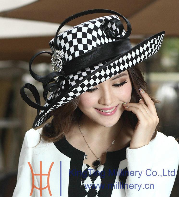 Ladies' Satin Dress Hat
