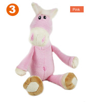 2013 new baby Pink Horse soft Toy ,lovely plush toy,free shipping
