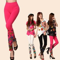 XXXL 2014 spring summer fashion street butterfly 3 color Long tights leggings woman leggings high quality legging pants YQ05014