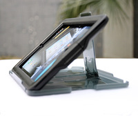 Transparent Waterproof Case Stand for iPad 2 3 4 Water Proof Case Stander, 10pcs/lot