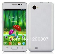 "Original Android Phone MTK6572 Cortex A7 dual core cell phone 4.0"" 2 SIM Duad core 256MB RAM 4G ROM 2.0MP Camera"