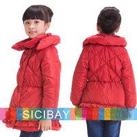 Retail New 2014 Winter Outerwear & Coats, Grls Winter Jacket, Children Outerwear, Girl Winter Coat Jacket Free shipping  K3995