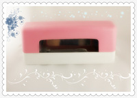 Professional Nart Art 9W Pink UV Gel Curing Lamp Nail Dryer Light  Free Shipping