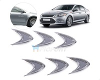 Free shipping & Tracking # Car Side Air Vent Fender Cover Intake Duct Flow Decoration Sticker - CA01641