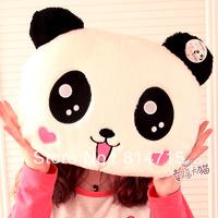 Hot Selling Cartoon Panda Doll Plush Panda Cushion Thermal Pillow