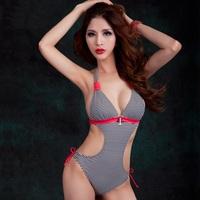 Swimwear For Women2014 New Arrival Stripe Print One Piece Swimsuit for Women Plus Size
