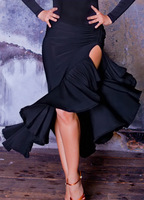 Latin dance skirt Latin skirt dance sksquare dance clothes dance  practice skirt Tailor-made