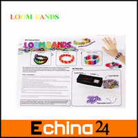 2013 Hot Sale Rainbow Loom Rubber Bands DIY Loom Kit Refill Twistz Band Bracelets Free Shipping