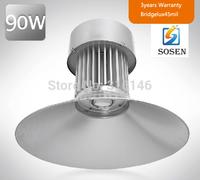 90w High Bay Light high bay light fixtures industrial lighting  UL SAA CE approval bridgelux 3years warranty DHL free shipping